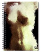 Naked Female Torso  Spiral Notebook
