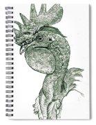 Naked Neck Rooster Spiral Notebook