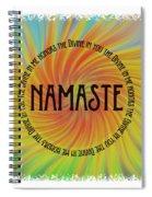 Namaste Divine And Honor Swirl Spiral Notebook