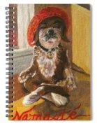 Namaste Dog Spiral Notebook