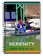 Namaste - Sacramento Delta Spiral Notebook