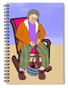 Nana Knitting Spiral Notebook