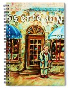 Nancys Fine Pastries Spiral Notebook