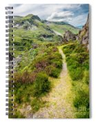 Nant Ffrancon Footpath Spiral Notebook