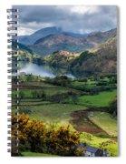 Nant Gwynant Valley Spiral Notebook