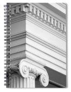 Nantucket Architecture Spiral Notebook