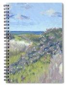 Nantucket June Dunes I Spiral Notebook
