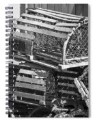 Nantucket Lobster Traps Spiral Notebook