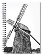 Nantucket Windmill Number One Spiral Notebook