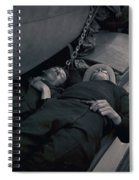 Nap Time With My Friend Spiral Notebook