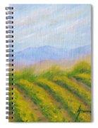 Valley Vineyard Spiral Notebook