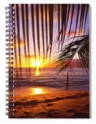 Napili Bay Sunset Maui Hawaii Spiral Notebook