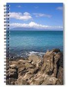 Napili Bay With Lanai Spiral Notebook