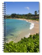 Napili Bay With Visitors Spiral Notebook