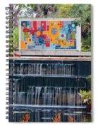 Naples Botanical Waterfall - Refreshing Garden Spiral Notebook