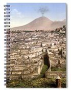 Naples: Mt. Vesuvius Spiral Notebook