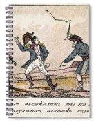 Napoleon: Russian Campaign Spiral Notebook