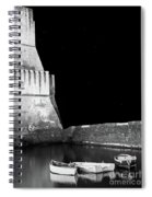 Napoli By Night Spiral Notebook