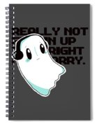 Napstablook Spiral Notebook
