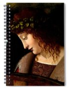 Narcissus Detail Spiral Notebook