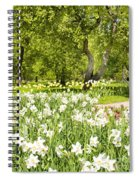Narcissus In Apple Garden Spiral Notebook