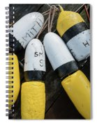 Narragansett Buoys Spiral Notebook