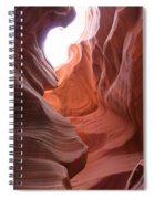 Narrow Canyon Xvii Spiral Notebook