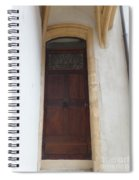 Narrow Door Spiral Notebook