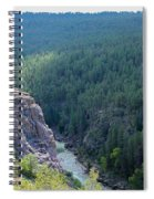 Narrow Gauge Railroad Spiral Notebook