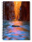Narrowly Wide Spiral Notebook