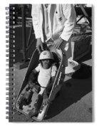 Nasa Chimp, 1961 Spiral Notebook