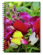 Nascent Blossoms  Spiral Notebook