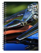Nash Ambassador Hood Ornament  Spiral Notebook