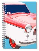 Nash Metropolitan Tee Spiral Notebook