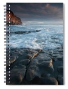Nash Point South Wales Spiral Notebook