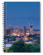 Nashville By Night 1 Spiral Notebook
