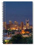 Nashville By Night 2 Spiral Notebook