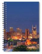 Nashville By Night Spiral Notebook