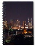 Nashville Cityscape 2 Spiral Notebook