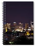 Nashville Cityscape 4 Spiral Notebook