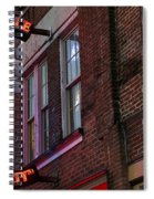 Nashville Crossroads Music City  Spiral Notebook