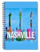 Nashville Guitars Spiral Notebook
