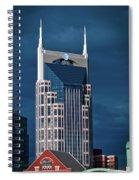 Nashville Landmarks Spiral Notebook