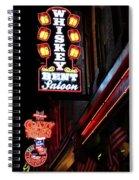 Nashville Neon Signs  Spiral Notebook