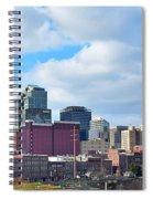 Nashville Panorama View Spiral Notebook