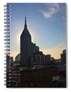 Nashville Skyline Spiral Notebook