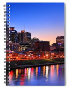 Nashville Southern Nights Spiral Notebook