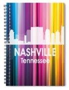 Nashville Tn 2 Squared Spiral Notebook