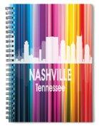 Nashville Tn 2 Vertical Spiral Notebook