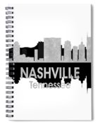 Nashville Tn 4 Squared Spiral Notebook
